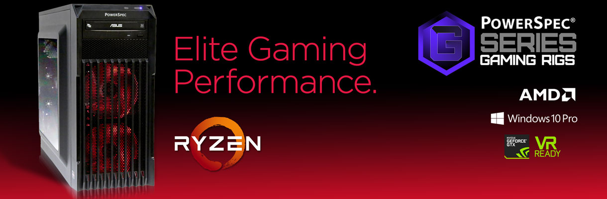 PowerSpec G-Series AMD Desktops