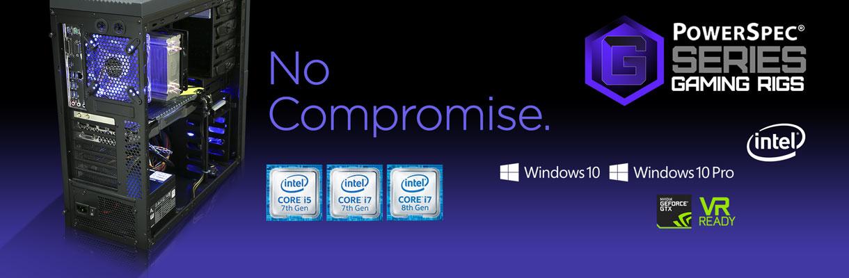 PowerSpec G-Series Intel Desktops