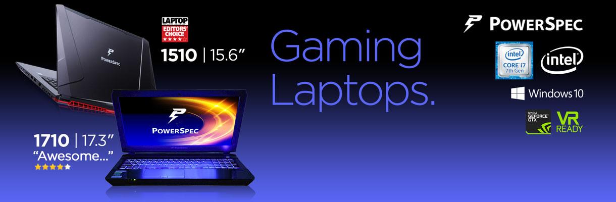 PowerSpec Laptops