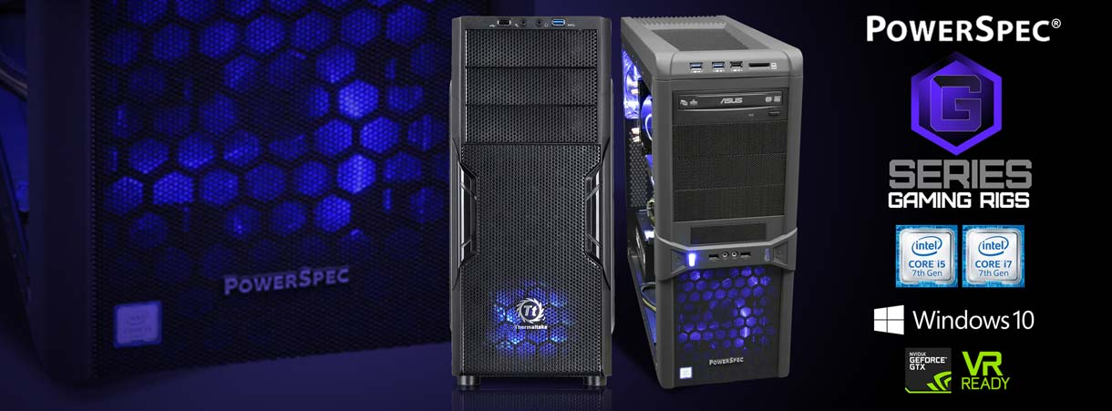 PowerSpec G-Series Gaming Rigsl