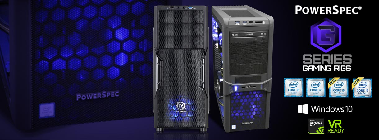 PowerSpec G-Series Gaming Rigsl