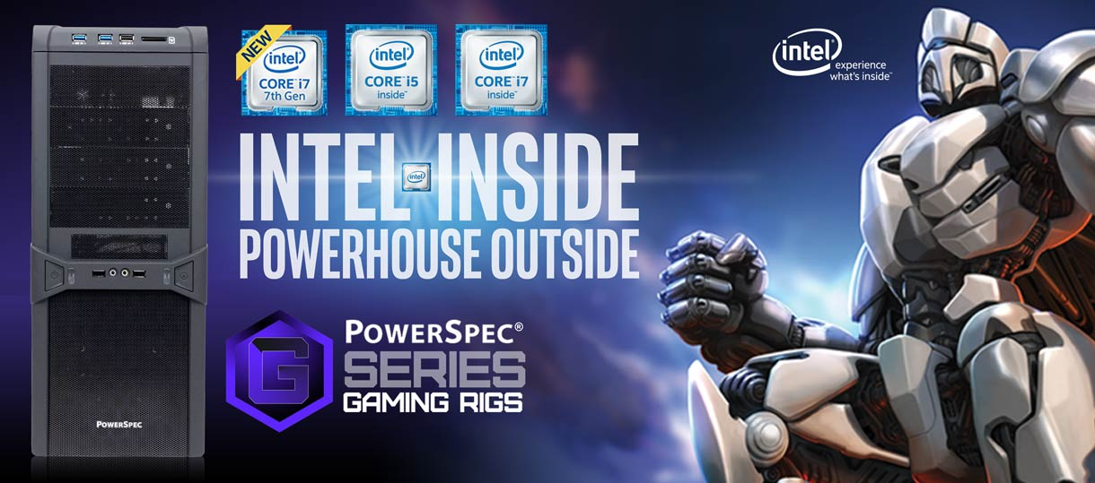 PowerSpec Gaming Systems - powered by Intel