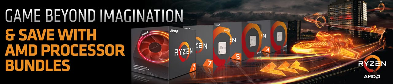 Game Beyond Imagination - and save with AMD processor bundles