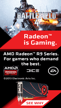 Radeon is Gaming. AMD Radeon R9 Series.
