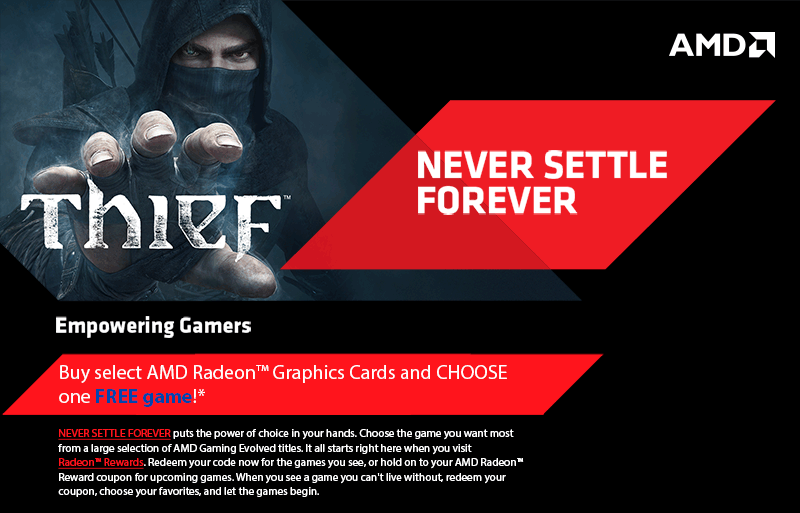 AMD Never Settle Forever Thief