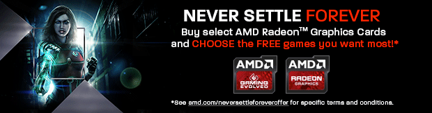 AMD Never Settle Forever!