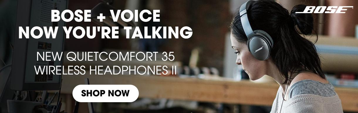 New Quietcomfort 35 Wireless Headphones II - Shop Now