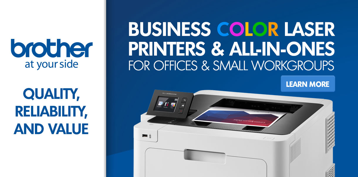 Brother Business Color Laser Printers