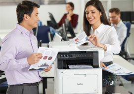 Brother Color Laser Printers & AIO