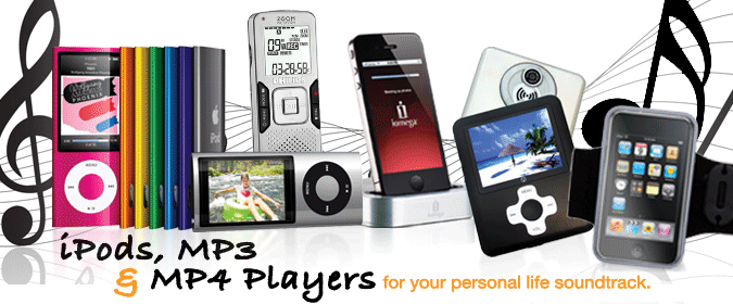 iPods, MP3 & MP4 Players