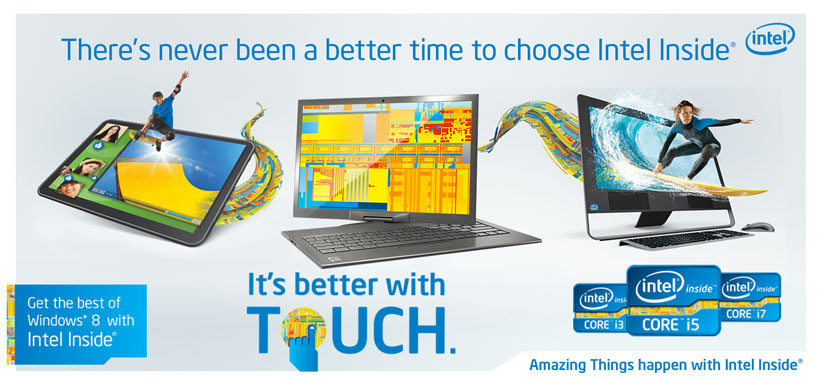 Get the Best of Windows 8 with Intel Inside