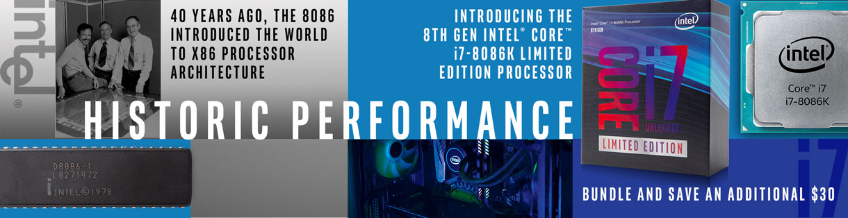 Historic Performance - Intel Core i7 8086K Limited Edition Processor