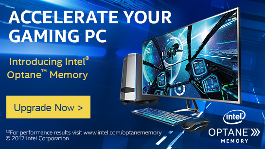 Accelerate Your Gaming PC - Introducing Intel Optane Memory - Upgrade Now!
