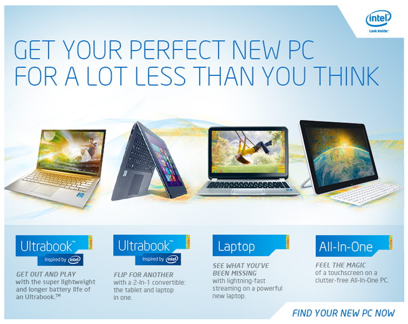 Get Your Perfect New PC for a Lot Less than You Think
